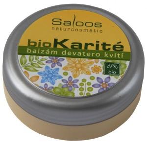 bioKarité balzam deväť kvetov