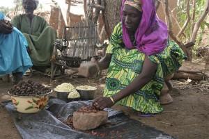 Spracovanie orechov v Burkina Faso